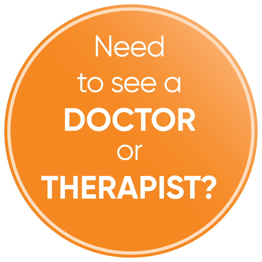Need to see a Doctor or Therapist?