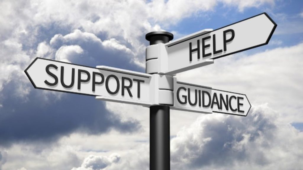 Support, Help, Guidance