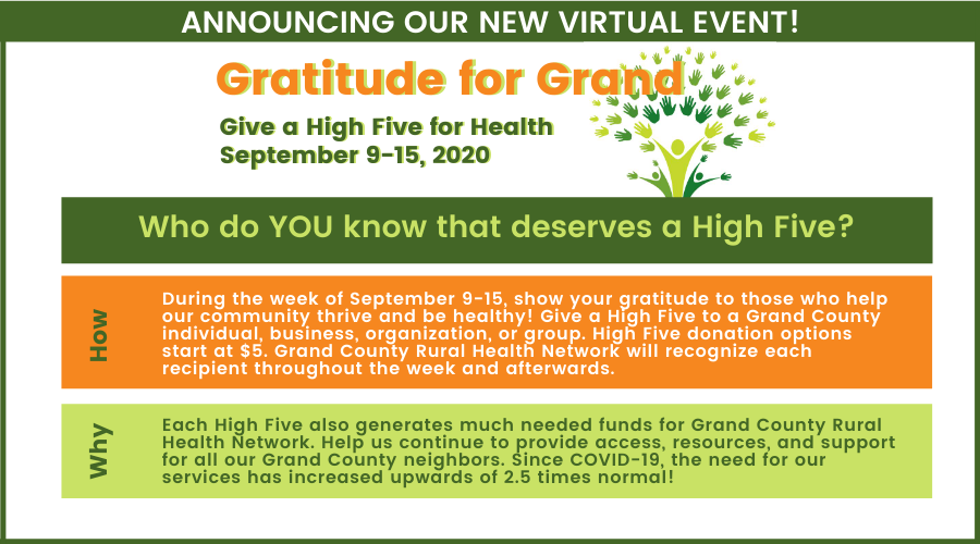 Gratitude for Grand - Our new virtual event