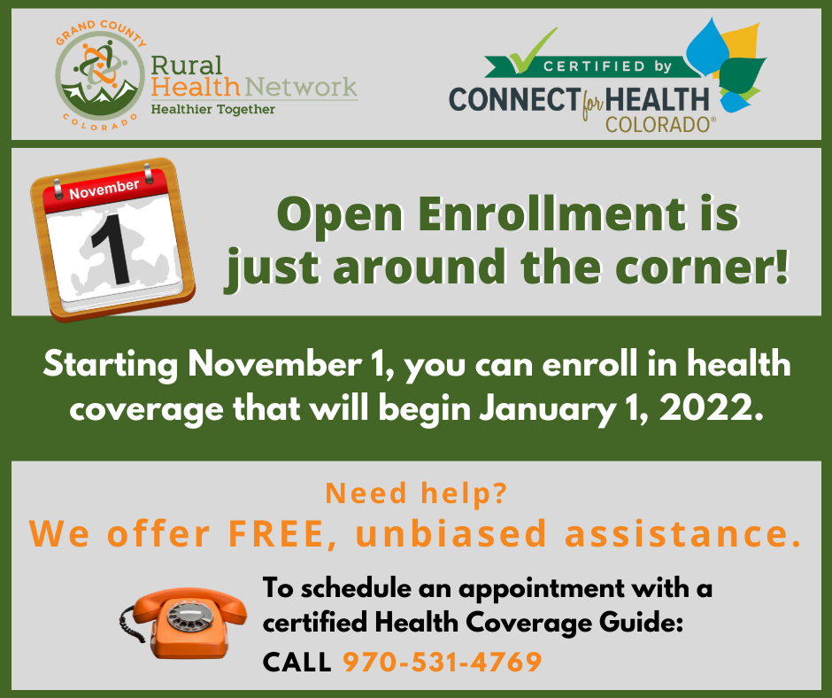Get ready for Open Enrollment for health coverage